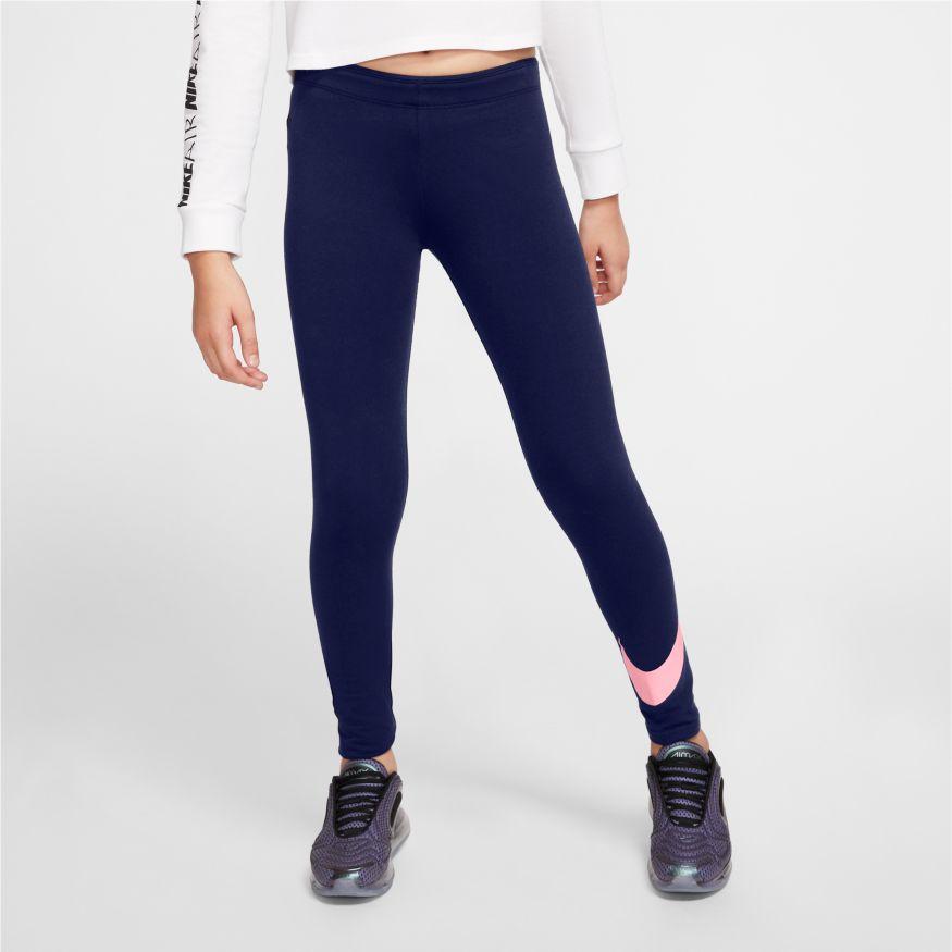 Leggings da Bambina/Ragazza Nike Sportswear Swoosh NIKE SG   270000023   AR4076495