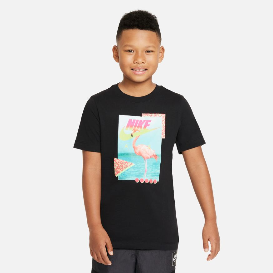 Maglia da bambino/ragazzo Nike Sportswear Beach Flamingo NIKE SG   -89515098   DJ3804010