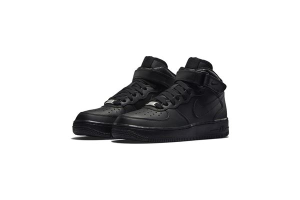 Nike Air Force 1 Mid Nere GS Ragazzo NIKE AS | 734540035 | 314195004