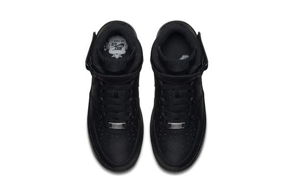Nike Air Force 1 Mid Nere GS Ragazzo NIKE AS | 734540035 | 314195004