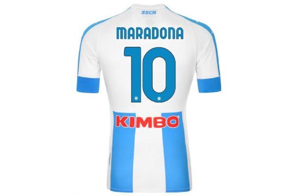 Maglia Maradona Napoli 2020/21 Kappa KAPPA | 270000021 | 3119ZCWA05MARADONA