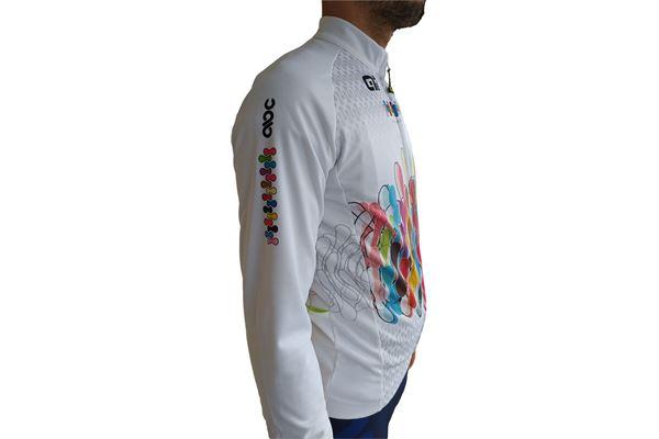 Maglia da Ciclismo a Manica Lunga Alè ABC Anaclerico Bike Club ABC ANACLERICO SPORT BYKE CLUB | 270000071 | 500568500WHITECHAIN