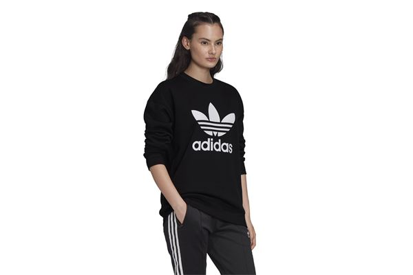 Felpa Donna Adidas Trefoil Crew ADIDAS ORIGINALS | 92 | FM3272-