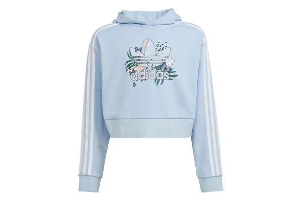 Felpa bambina/ragazza adidas Hoodie Her Studio London Animal Flower Print Crop ADIDAS ORIGINALS | 92 | H22597-