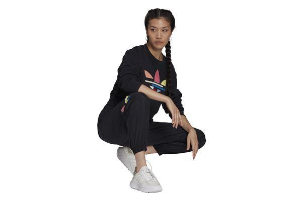 Felpa Adidas donna Adicolor Shattered Trefoil Cropped ADIDAS ORIGINALS | 92 | H22854-