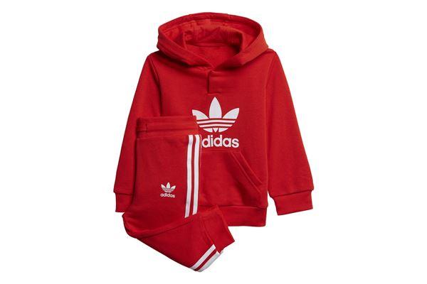 Tuta da neonato Adidas Adicolor Hoodie ADIDAS ORIGINALS | 270000019 | H25219-