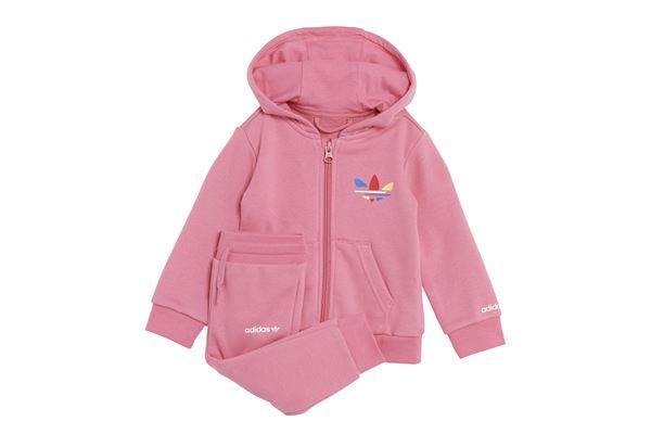Tuta da neonato Adidas Adicolor Full-zip Hoodie ADIDAS ORIGINALS | 270000019 | H25230-