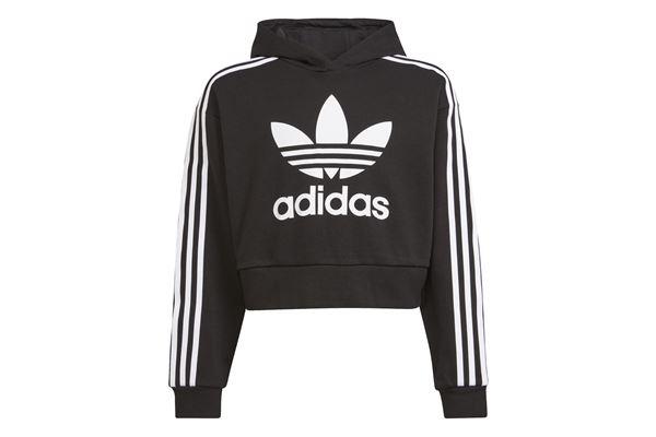 Felpa Bambino/Ragazzo Adidas Hoodie Adicolor Cropped ADIDAS ORIGINALS | 92 | H32337-