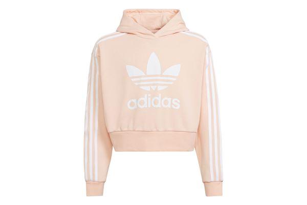 Felpa Adidas bambina/ragazza Hoodie Adicolor Cropped ADIDAS ORIGINALS | 92 | H32339-