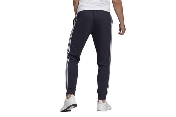 Pantaloni Adidas Essentials Fleece Tapered Cuff 3-Stripes ADIDAS PERFORMANCE | 115 | GK8888-