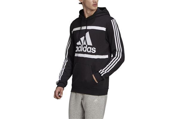 Felpa Adidas con Cappuccio Essentials Logo Colorblock ADIDAS PERFORMANCE | 92 | GK9011-