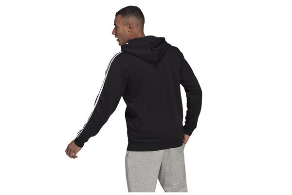 Felpa con cappuccio Essentials Fleece 3-Stripes Full-Zip ADIDAS PERFORMANCE | 92 | GK9051-
