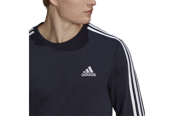 Felpa Adidas  Essentials French Terry 3-Stripes Sweatshirt ADIDAS PERFORMANCE | 92 | GK9079-
