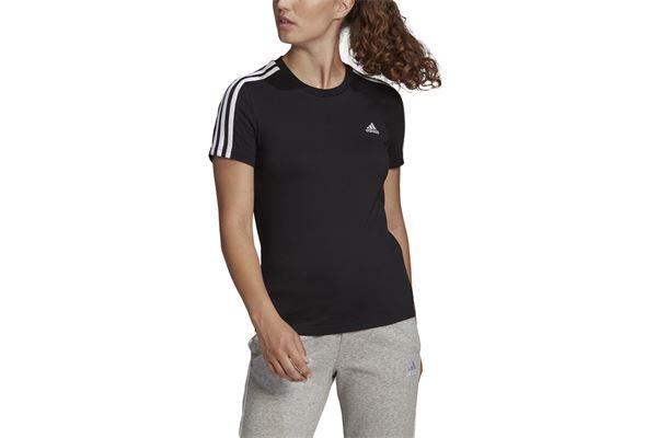 Maglia da donna Adidas Loungewear Essentials Slim 3 Stripes ADIDAS PERFORMANCE | -89515098 | GL0784-