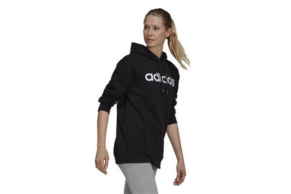 Felpa con cappuccio donna Adidas Linear ADIDAS PERFORMANCE   92   GS1342-