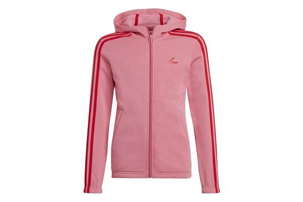 Felpa con cappuccio bambina/ragazza Adidas Essentials 3-Stripes Full-Zip ADIDAS PERFORMANCE | 92 | GS2197-