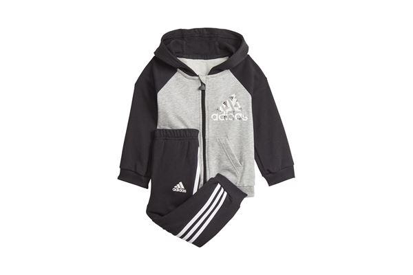 Tuta da neonato Adidas Badge of Sport Full-zip Hoodie ADIDAS PERFORMANCE | 270000019 | GT9500-
