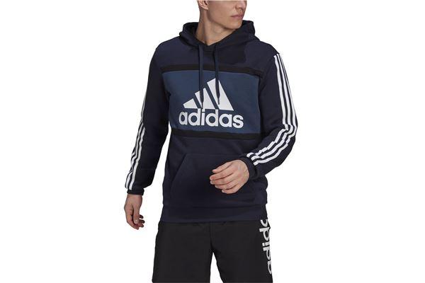 Felpa Adidas Hoodie Essentials Logo Colorblockm cb hd ADIDAS PERFORMANCE | 92 | GV0252-