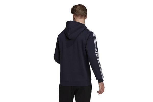 Felpa con cappuccio Essentials Fleece 3-Stripes Logo ADIDAS PERFORMANCE   92   H14642-