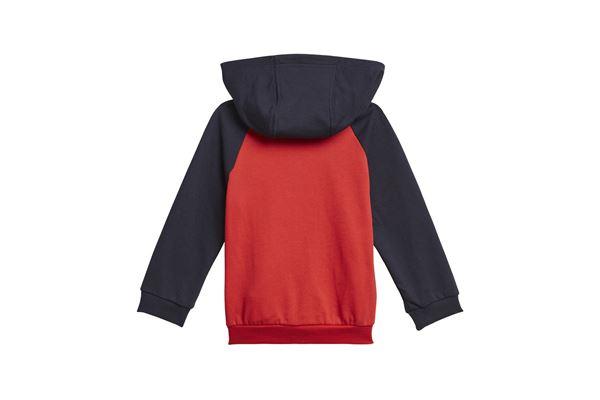 Completo per neonati Adidas badge of sport full-zip hoodie ADIDAS PERFORMANCE | 270000019 | H28832-