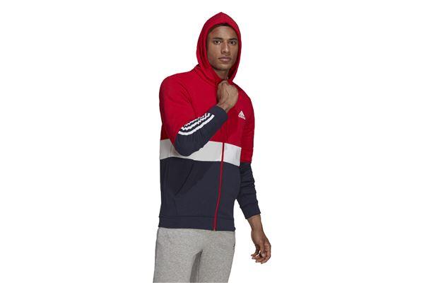 Felpa con cappuccio Essentials Fleece Full-Zip ADIDAS PERFORMANCE | 92 | H58979-