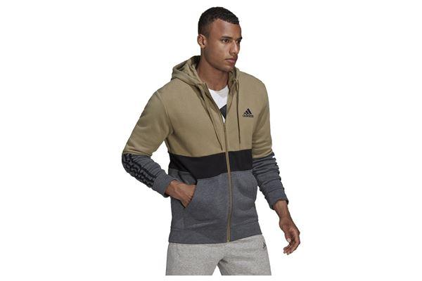 Felpa con cappuccio Essentials Fleece Full-Zip ADIDAS PERFORMANCE | 92 | H64179-