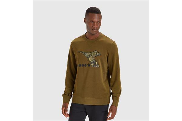 Felpa Diadora Sweatshirt Crew Logo Chromia DIADORA T3 | 92 | 17776470428