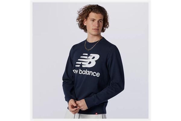 Felpa New Balance Essentials Stacked Logo Crew NEW BALANCE | 92 | MT03560ECL