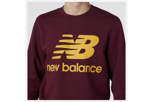 Felpa New Balance Essentials Stacked Logo Crew NEW BALANCE | 92 | MT03560GTH