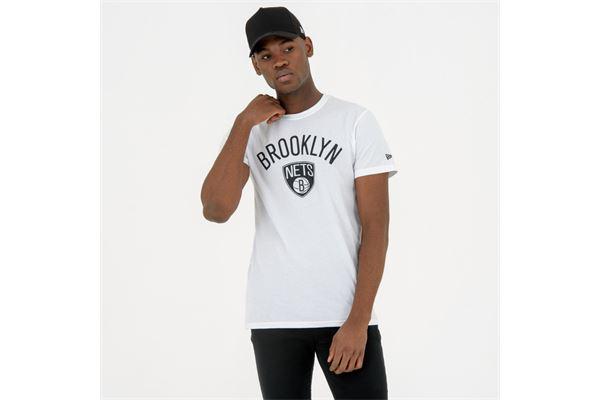 Maglia Brooklyn Nets New Era NEW ERA | -89515098 | 11530756WHI