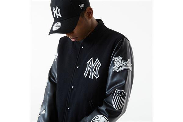 Giacca New York Yankees MLB Heritage NEW ERA   391095581   12553378BLK