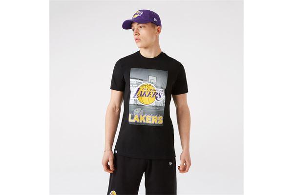 Maglia LA Lakers NBA Photographic New Era NEW ERA | -89515098 | 12827208BLK