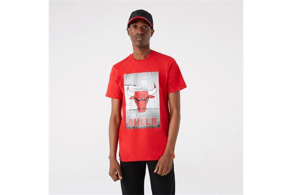 Maglia Chicago Bulls NBA Photographic New Era NEW ERA | -89515098 | 12827209FDR