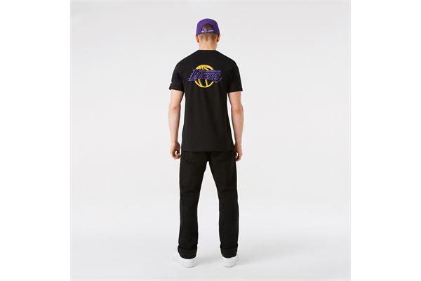 Maglia LA Lakers NBA Neon New Era NEW ERA | -89515098 | 12827210BLK