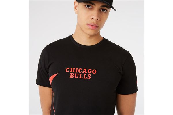 Maglia Chicago Bulls NBA Enlarged Logo New Era NEW ERA | -89515098 | 12827220BLK