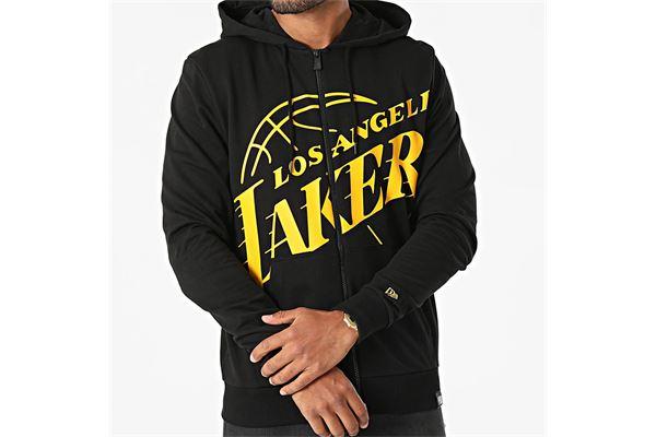 Felpa New Era con cappuccio  La Lakers Logo NEW ERA | 92 | 12827222BLK