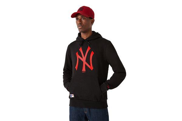 Felpa New Era New York Yankees Team Logo NEW ERA | 92 | 12827235BLKHRD
