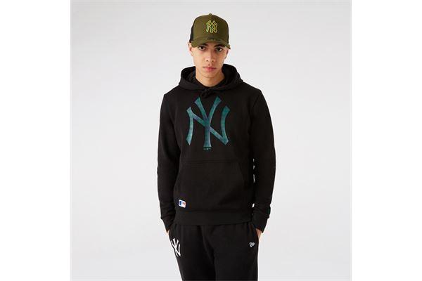 Felpa New Era New York Yankees Camo Logo NEW ERA   92   12827257BLKNOV