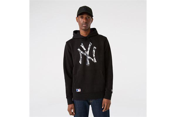 Felpa New Era New York Yankees Camo Logo NEW ERA | 92 | 12827258BLK