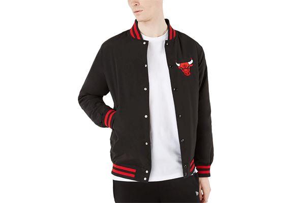 Bomber New Era Chicago Bulls NEW ERA   391095581   12869835BLK