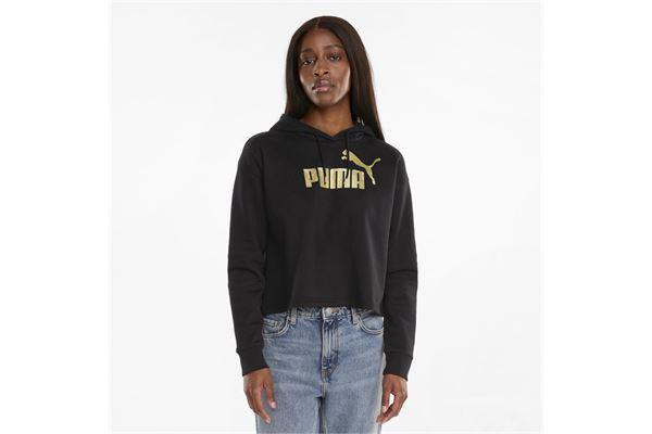 Felpa Puma donna Metallizzata Essentials PUMA | 92 | 586891001