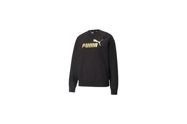 Felpa Puma donna Metallizzata Essentials PUMA | 92 | 586893001