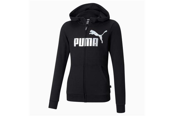 Felpa bambino/ragazzo Puma Essentials con zip e Logo PUMA | 92 | 587048001