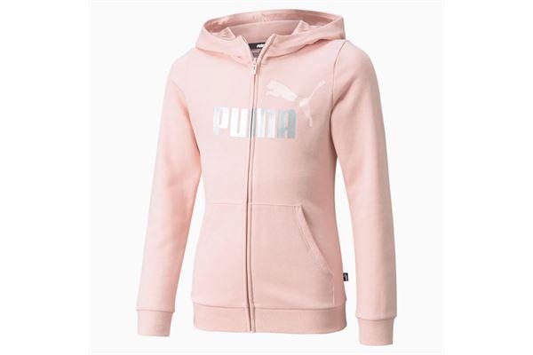 Felpa bambina/ragazza Puma Essentials con zip e Logo PUMA | 92 | 587048036
