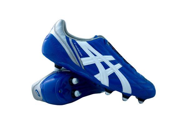 asics calcio blu