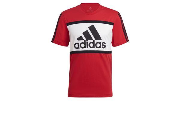 T-shir adidast Essentials Logo Colorblock ADIDAS CORE | -89515098 | GK8914-