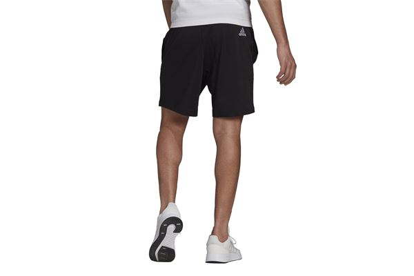 Short adidas AEROREADY Essentials Linear Logo ADIDAS CORE | 2132079765 | GK9604-