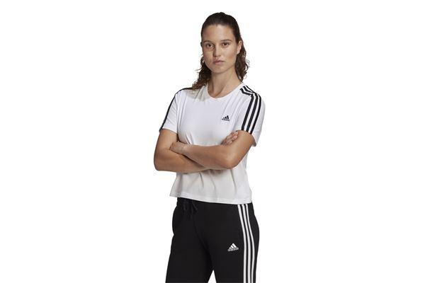 T-shirt adidas Essentials Loose 3-Stripes Cropped ADIDAS PERFORMANCE | -89515098 | GL0778-