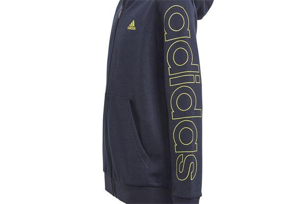 Felpa Adidas Bambino Essentials Logo Full- Zip Hoodie ADIDAS PERFORMANCE | 92 | GN4040-