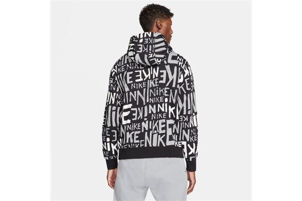 Felpa Nike Sportswear Club Allover Print NIKE SG | 92 | DA0061010
